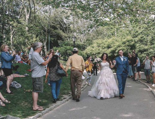 Brazilian Couple Elopes in NYC