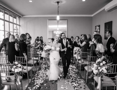 3 West Club Rooftop wedding