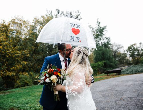 Fall Wedding at Cop Cot in Central Park