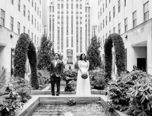 620 Loft & Garden wedding in the winter