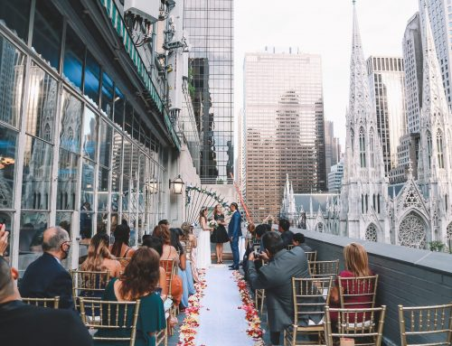 Rooftop Wedding during Covid-19
