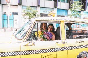 vintage taxi cab